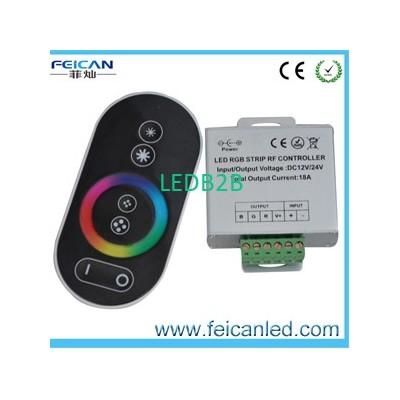 LED RF Wireless full touch LED RG
