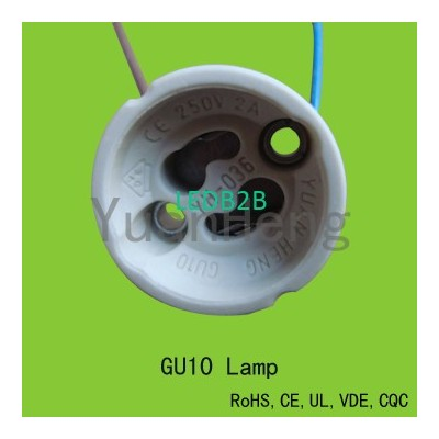 GU10 Lampholder with VDE, UL and