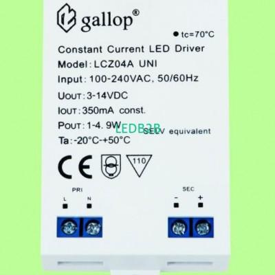 350mA  3-14V  1-4.9W   Constant