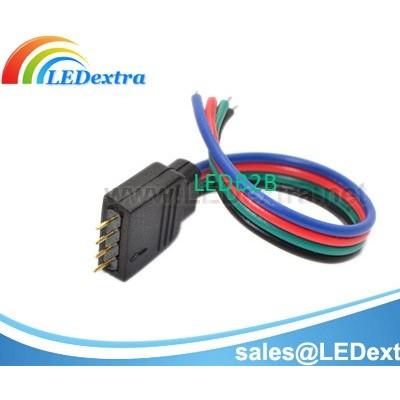 RGB LED Strip 4 Pin Connector Cab