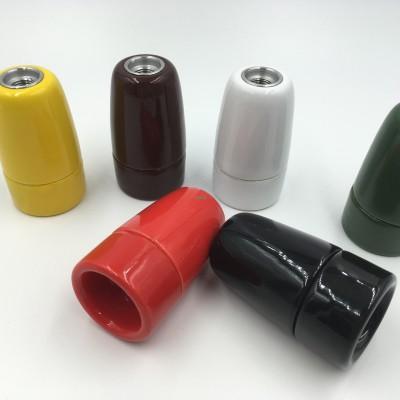 E14 colorful bulb holder lamp soc