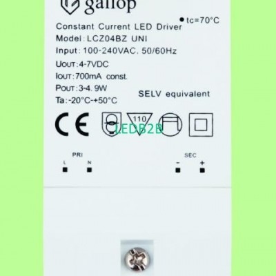 700mA  4-7V 3-4.9W  Constant  Cur