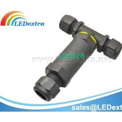 Waterproof T-Splitter Cable Conne