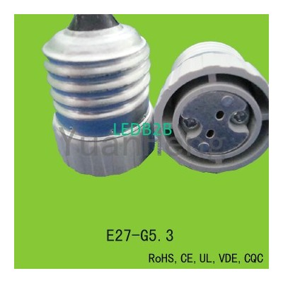 E27 lamp socket adapter with CE