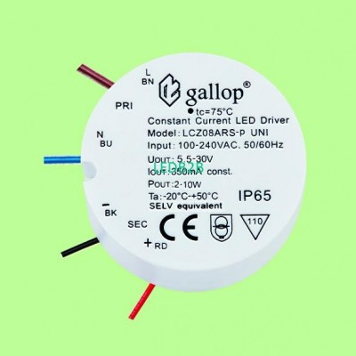 350mA  5.5-30V  2-10W  Waterproof
