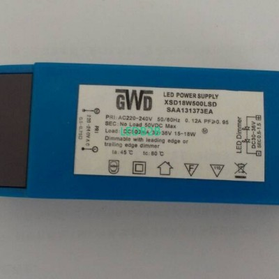 LED power supply dimming