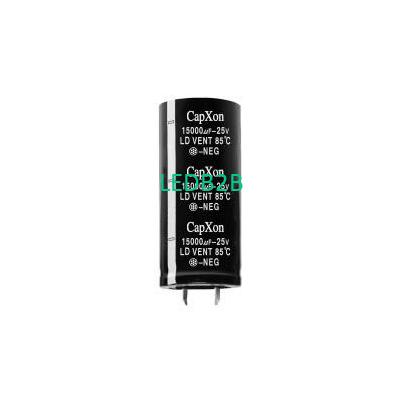 Aluminum Elect Capacitor - HU ser
