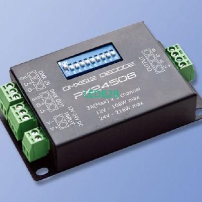DMX512 Decoder LED Controller