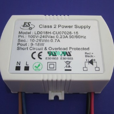 18W Constant Current LED driver f