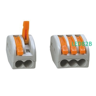 Compact connector 2/3/5-conductor