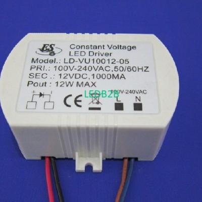 12W 1A 12V Constant Voltage LED d