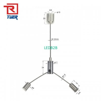 Indoor Use Suspension Cable Syste