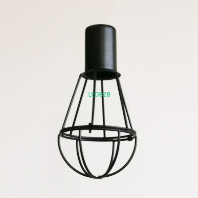 Iron Wire Guards Bulb Lamp Shade