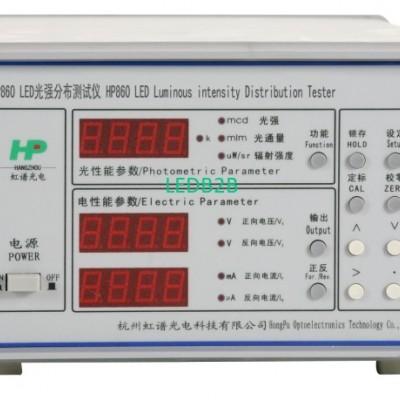 HP860 Luminous intensity distribu