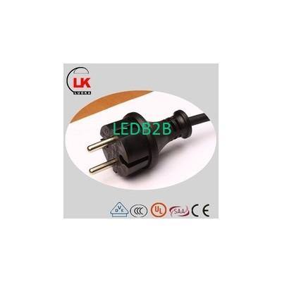 Plug and lamp holder