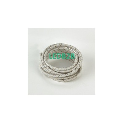 fabric braided electrical wire