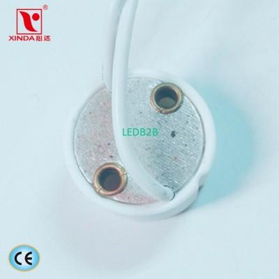 GU10 halogen lamp holder with cab