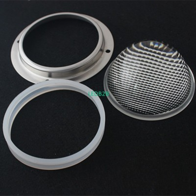 78mm 60degree led glass lens with