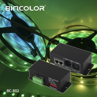 dmx to p9813 output signal DMX512