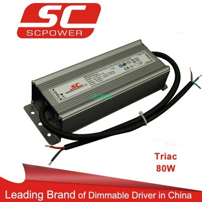 Triac dimmable led driver C.C. 80