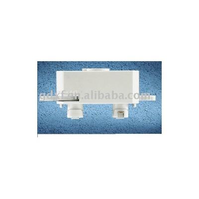 3 line track light adaptor