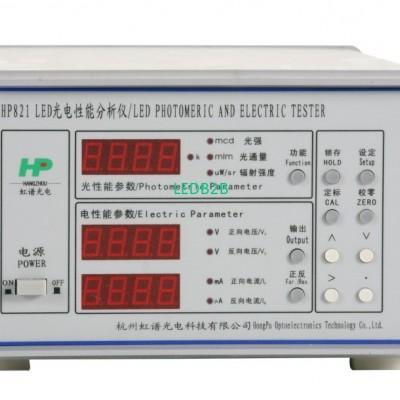 HP821 test system for LED luminou