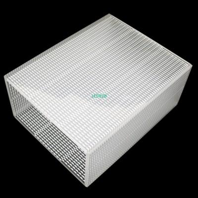 Custom Tampered Lamp Cover white