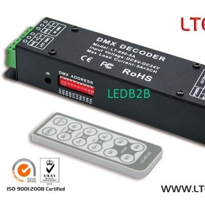 LT-850-5A LED CV DMX decoder 5A/C