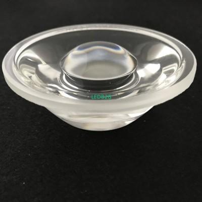 Narrow beam degree cob led lens f