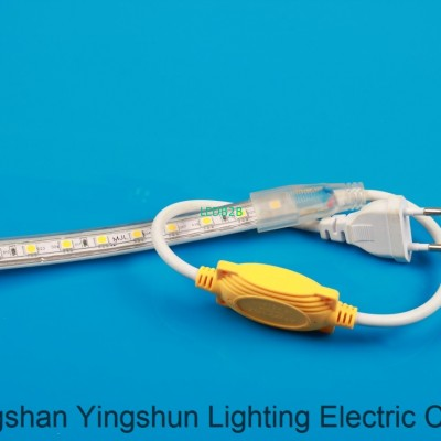 Yellow light with 8 a waterproof