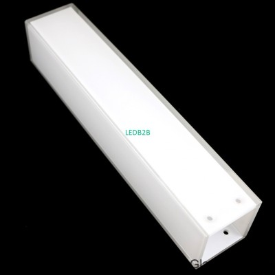white painted adhesive wall light