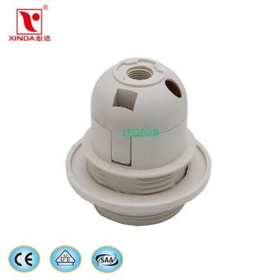 E27 plastic lamp socket CE VDE SA