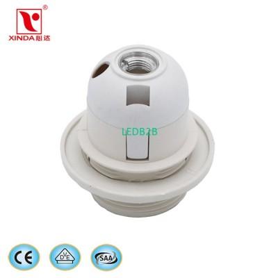 CE standard E27 plastic socket XD