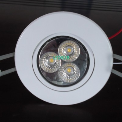 plastic down lighiting spare part