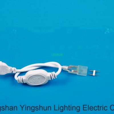 Waterproof lamp with 8 a plug pin
