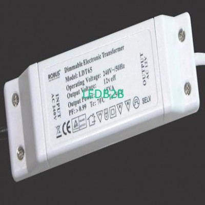 12V 65/105 Dimmable Electronic Tr
