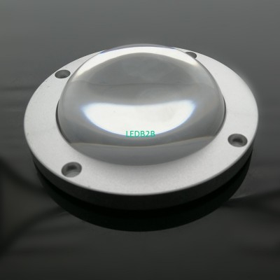clear borosilicate glass lens pla