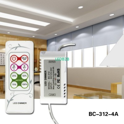 DC 12-24v RF remote control led m