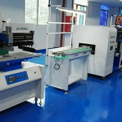 LED lamp assembly line machines