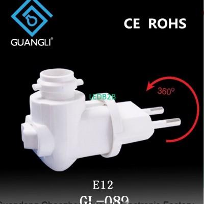 E12 CE ROHS lampholder european p