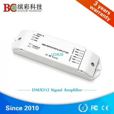 DMX512 signal amplifier