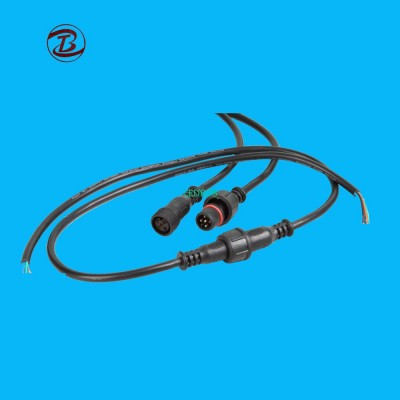 IP67 Outdoor Cable Socket Wire to