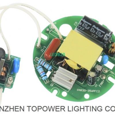 35W par light led driver the curr