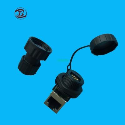 Power Socket RJ45 Plug