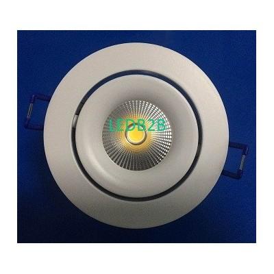 Round led downlight parts gu10 mr