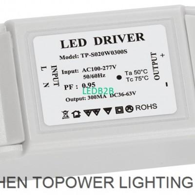 AC100-277V 20W width voltage exte