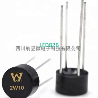 2W10 2A 1000V Bridge rectifierbri