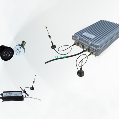 RF LORA or PLC Smart lighting sys