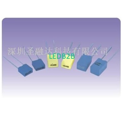 Metallized polyester film capacit
