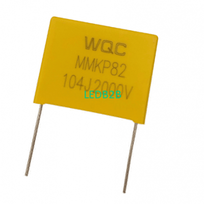 Special capacitor for mask machin